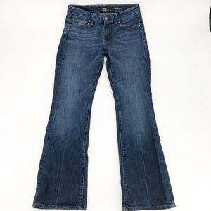 7 For All Mankind Womens Flare Jeans 27